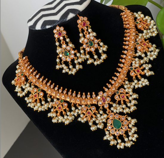 Picture of Brand New Guttapusala Necklace