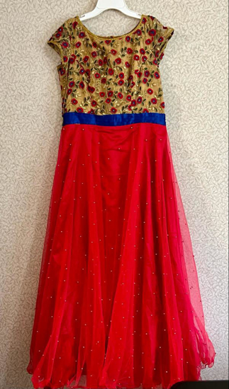Picture of Red anarkali