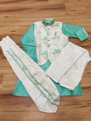 Picture of Boys kurthi- 4 piece for 10yrs