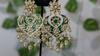 Picture of Dabi Kundan Meenakari Style Earrings