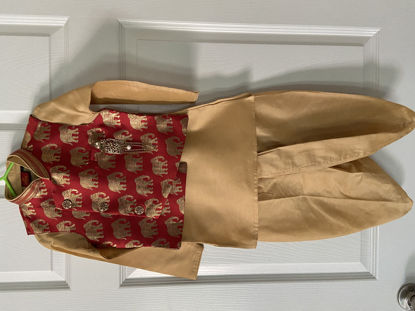 Picture of Traditional Boys 4 pc kurta set 1.5-2.5 years