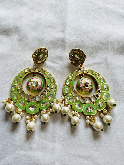 Picture of Chandbali Inspired Earrings