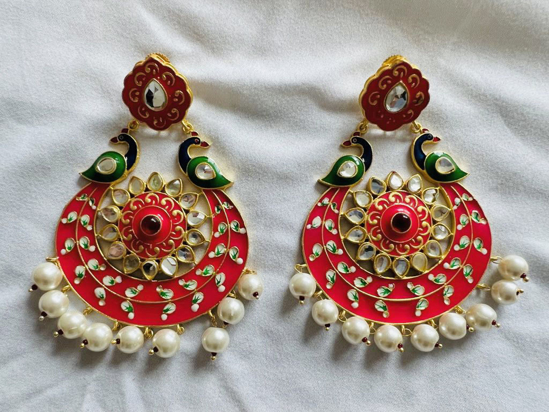 Picture of Chandbali Style Earrings