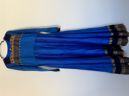 Picture of brand new Narayanpet long frock with long sleeves