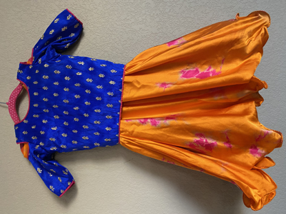 Picture of New Blue and orange crop top - 3-4 years